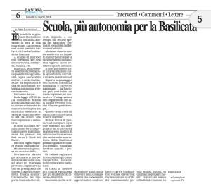 12032018_nuova-del-sud_lacorazza_scuola_piu-autonomia-per-la-basilicata