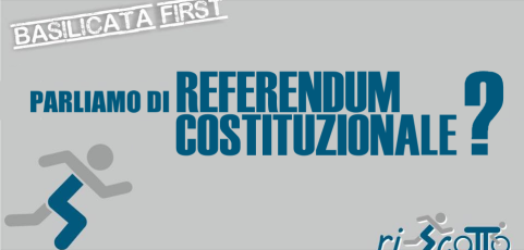 Basilicata Prima | REFERENDUM COSTITUZIONALE