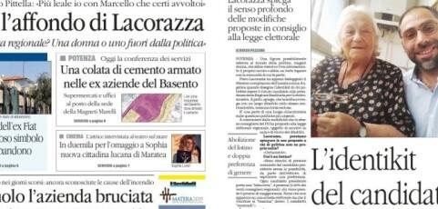 Intervista di Lacorazza a il Quotidiano del Sud. L'identikit del candidato: fuori dalla politica e magari donna